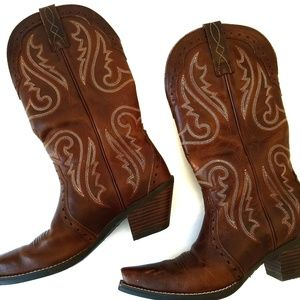 Ariat Heritage Western X Toe Western Cowboy Boot